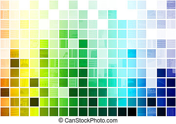 Colorful Simplistic and Minimalist Abstract