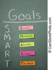 Colorful Smart Goals