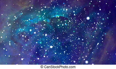 Colorful space background