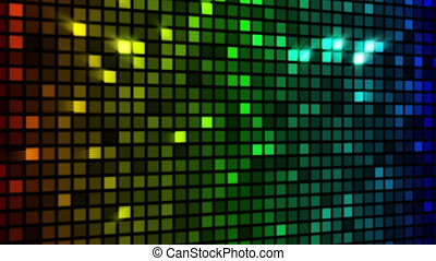 colorful sparkling wall loopable