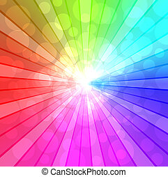 Colorful spectrum background - Colorful spectrum vector...