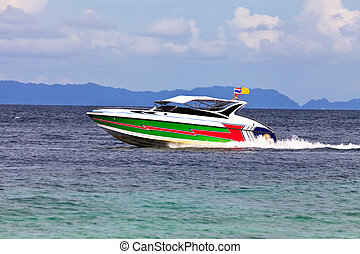 speed boat
