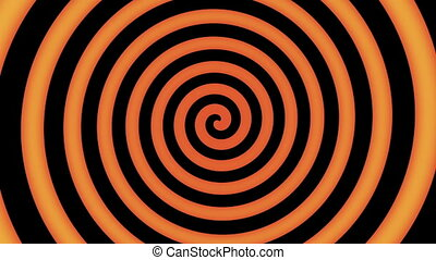 Colorful spiral in motion ready for hypnosis -...