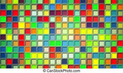 colorful squares abstract background