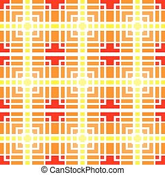 Colorful squares seamless pattern. The endless texture. Vector ornaments. Abstract geometric illustration.