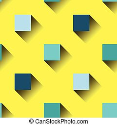 Colorful squares seamless pattern