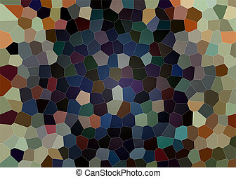Colorful stained glass mosaic texture as a background
