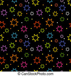 Colorful stars texture