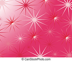 colorful stars - vector illustration of an abstract ...
