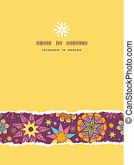 Colorful stars vertical seamless pattern background template