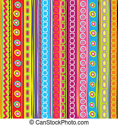 Colorful strip abstract background