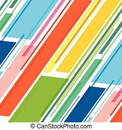 colorful stripe pattern design