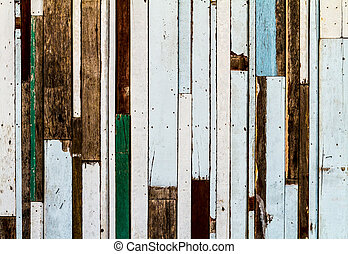 Colorful striped pattern wood texture