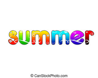 colorful summer