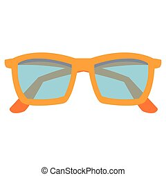 colorful sunglasses icon