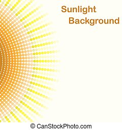 Colorful sunlight background