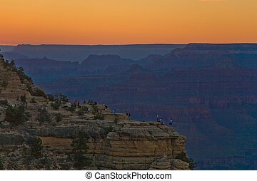 colorful Sunset at Grand Canyon