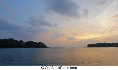 Colorful Sunset at Keppel Bay 1080p