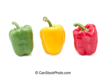 Colorful Sweet peppers.