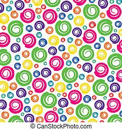 colorful swirl pattern background