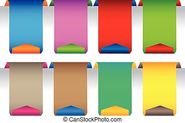 Colorful tag labels