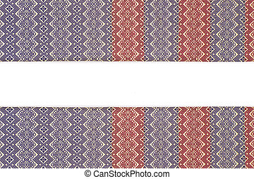 Colorful thai style silk handcraft texture and