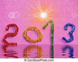 colorful than paying for congratulation new year