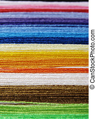 colorful threads - colorful sewing threads background