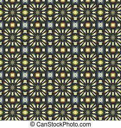 colorful tile able seamless pattern design