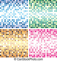 colorful tile backgrounds