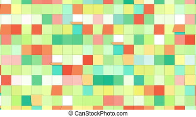 colorful tiles loopable backgrounds
