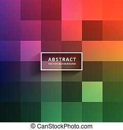 colorful tiles vector design background