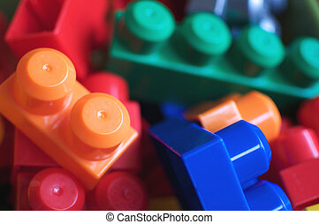 Colorful Toy Building Blocks