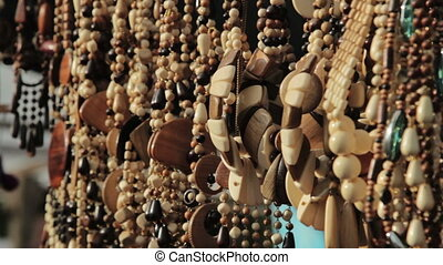 colorful traditional ethnic jewelry sold, HD