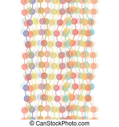 Colorful transparent dots seamless - EPS10 vector file...