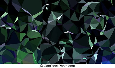 Colorful Triangle Polygons animation