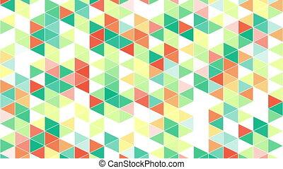 colorful triangles geometric back
