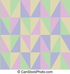 Obtuse Triangle Shape Forming Blurry Mosaic and Stained Glass Pattern Style Design business Empty copy space text for Ad website promotion isolated Banner template