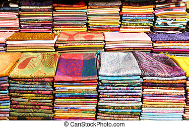 Colorful Turkish Scarfs