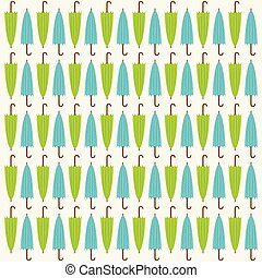 colorful umbrella pattern design