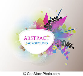 Colorful vector background.