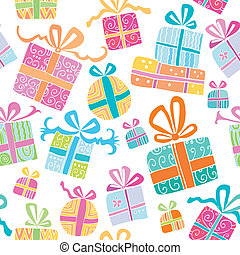 Colorful vector gift boxes.