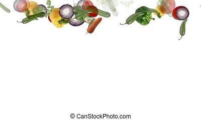 colorful vegetables background - Colorful fresh vegetables...