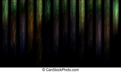 Colorful vertical lines
