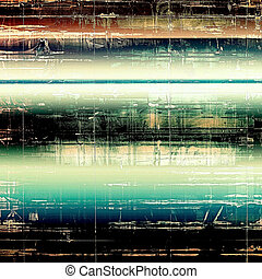 Colorful vintage texture. With different color patterns: brown; green; blue; white; black