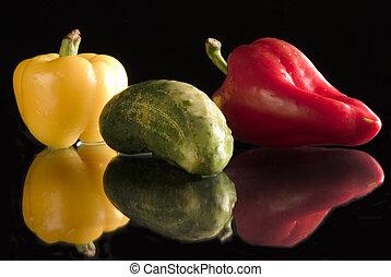 colorful vitamins