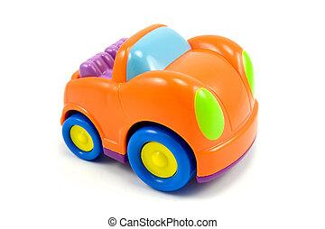 vivid plastic car