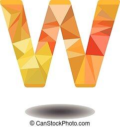 Vector Design of Modern Glossy Alphabet Graphics for Business Logo Brand