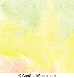 Colorful watercolor Abstract scenic background