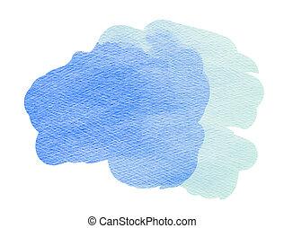Colorful watercolor drops texture.